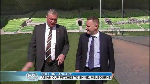 Asian Cup pitches to shine