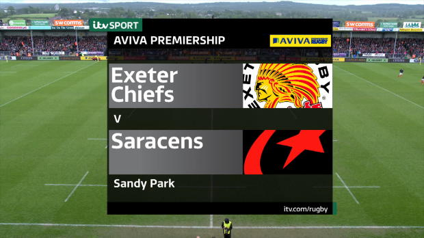 Aviva Premiership - Match Highlights - Exeter Chiefs v Saracens