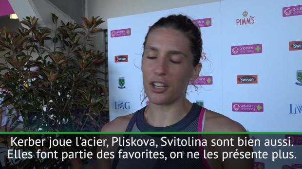 """Basket : Open d'Australie - Petkovic - """"C'est ouvert, avec ou sans Serena"""""""