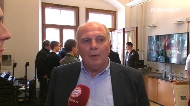 Hoeneß: Man kann Heynckes nicht genug danken