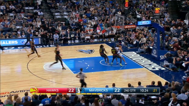 Assist of the Night - J.J. Barea