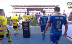Newcastle Jets and Central Coast Mariners finished all square after playing out a 1-1 draw at McDonald Jones Stadium on Sunday afternoon.