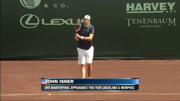 ATP Houston: Escobedo - Isner