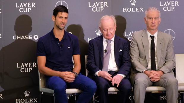 Laver Cup: Djoker freut sich auf Federer-Doppel