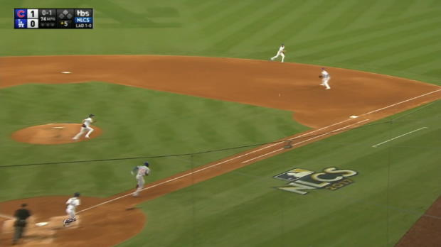Bellinger's athletic play