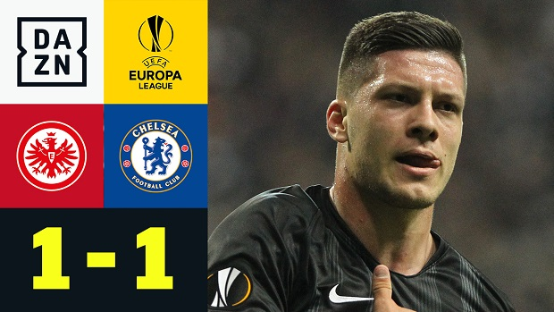 Europa League: Eintracht Frankfurt - Chelsea | DAZN Highlights