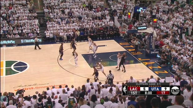 WSC: Chris Paul with 12 Assists against the Jazz