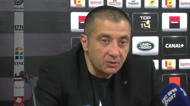 Top 14 - Barrages : Boudjellal : 'L'arbitre est passé à côté de son match'