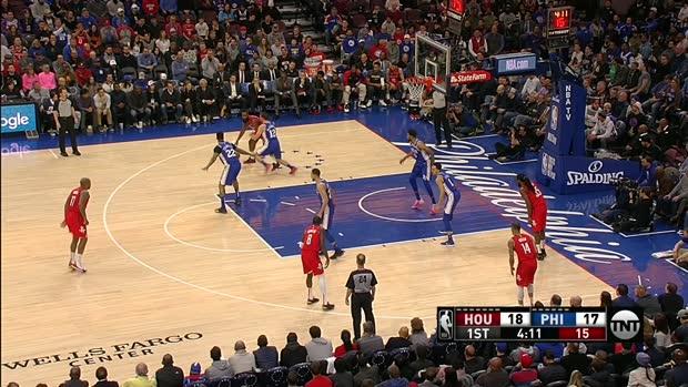 GAME RECAP: Sixers 121, Rockets 93