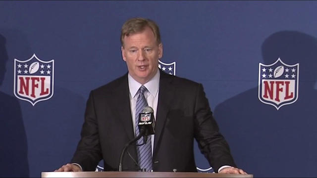 Roger Goodell's full press conference on new national anthem policy