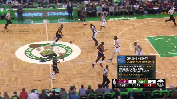 WSC: Cleveland Cavaliers with 19 3-pointers against the Celtics