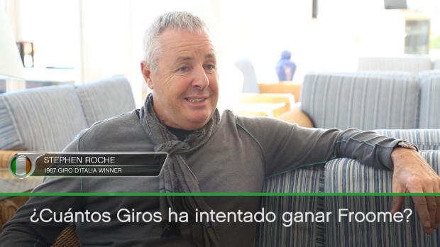 """Roche: """"Froome debería intentar ganar el Giro"""""""