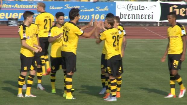 5:0! BVB siegt bei Tuchel-Debüt