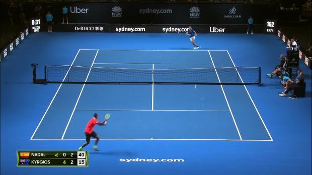 Basket : Fast4 - De retour, Nadal s'incline contre Kyrgios