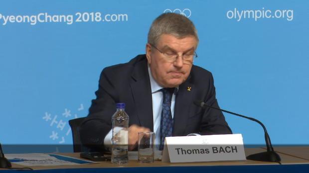 "Olympia 2018: Bach: ""Regularien sind eindeutig!"""