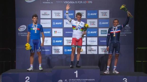 Richmond 20015 - Contrareloj - Kyrienka, oro; Castroviejo, a tres segundos de la medalla