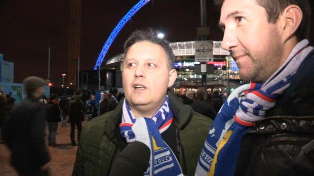 """In Wembley: """"Aus Feinden wurden Freunde"""""""