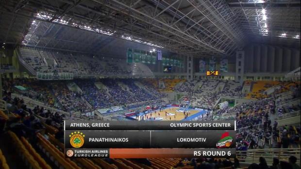 Highlights: Panathinaikos Athens-Lokomotiv Kuban Krasnodar