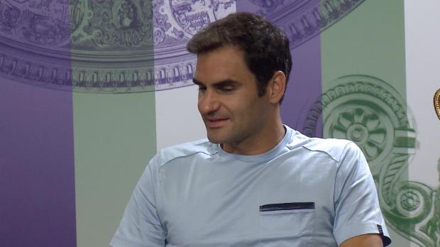 Tennis : Wimbledon - Federer a bien fêté le titre !