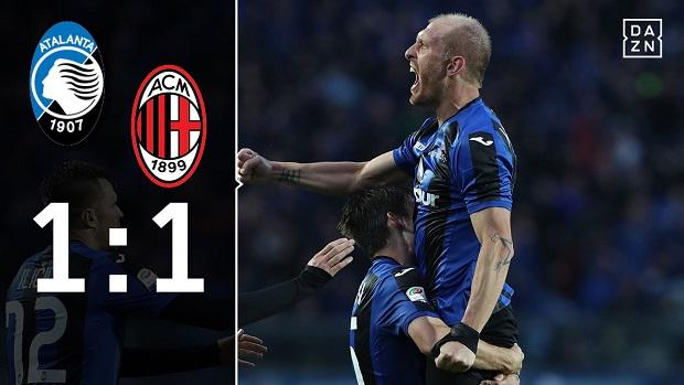 Atalanta - AC Mailand