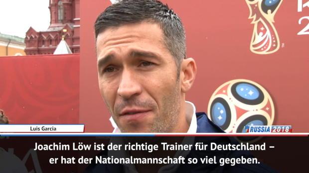 """Luis Garcia: """"Löw der richtige Trainer"""""""
