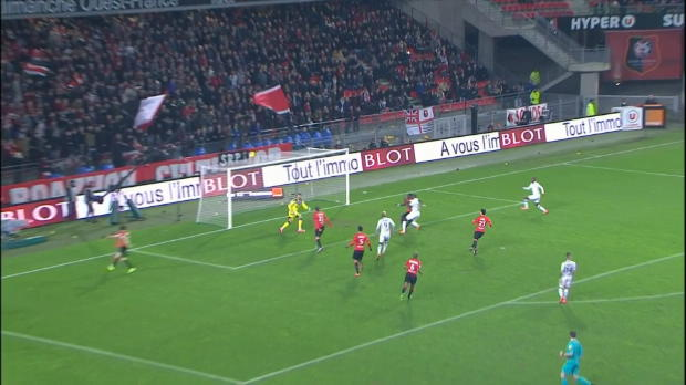 Ligue 1 Round 26 : Rennes 1-0 Angers