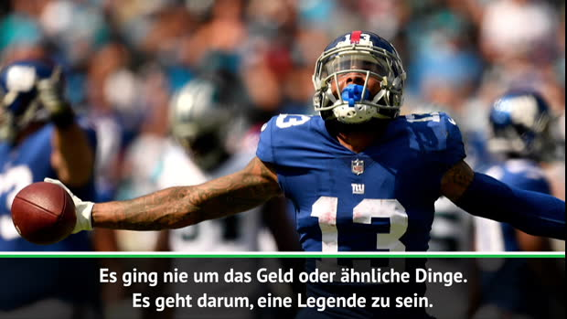 Beckham Jr. nach Browns-Wechsel: Will Legende sein