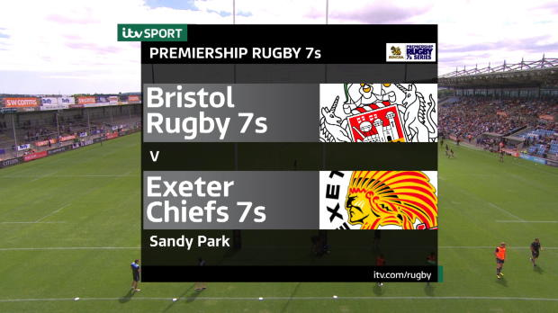 Aviva Premiership - Match Highlights - Exeter Chiefs 7s v Bristol Rugby 7s