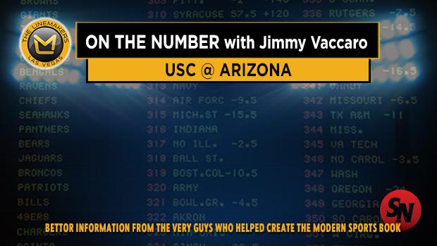 Jimmy V on USC @ Arizona