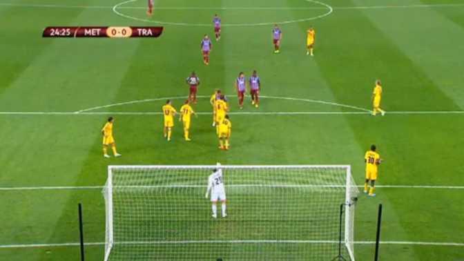 L.Europa : Metalist Kharkiv 1-2 Trabzonspor