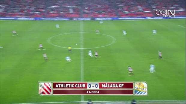 Coupe du Roi : Bilbao 1-0 Malaga