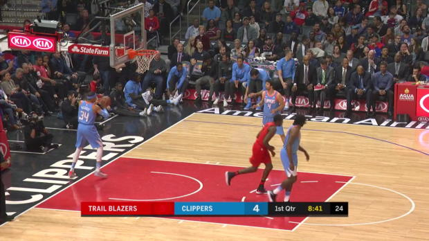 WSC: Damian Lillard (23 points) Highlights vs. Los Angeles Clippers