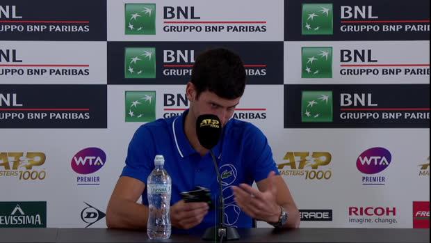 Djokovic zu Zverev: Erwartungen können belasten