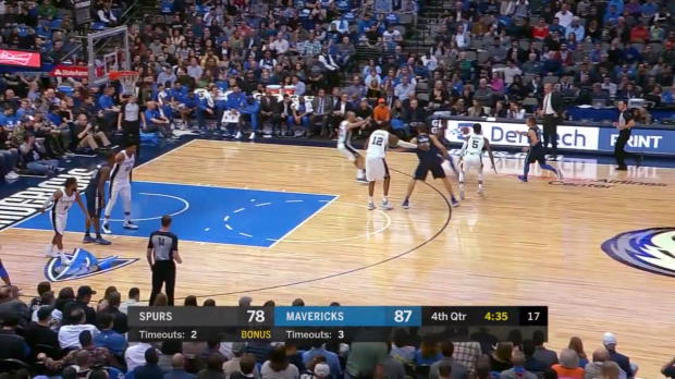 WSC: Maxi Kleber 5 points vs the Spurs
