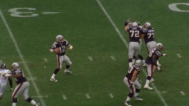 Tom Brady's first NFL touchdown pass