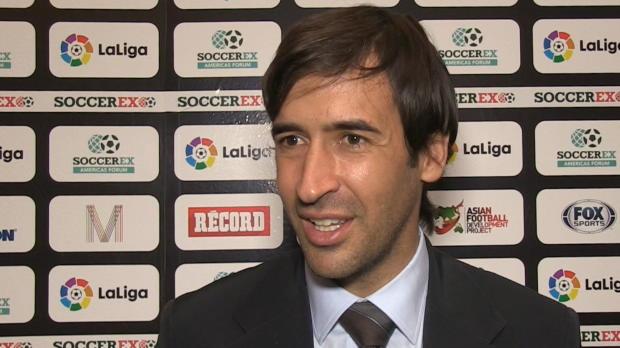"""Raúl: """"Va ser una gran fiesta del fútbol español y de la Liga"""""""