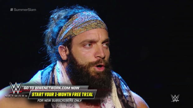 Elias' concert goes terribly wrong when he tries to perform in front of the WWE Universe: SummerSlam 2018 (WWE Network Exclusive)