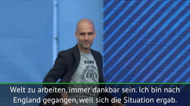 """Guardiola: """"War bei Bayern sehr glücklich"""""""