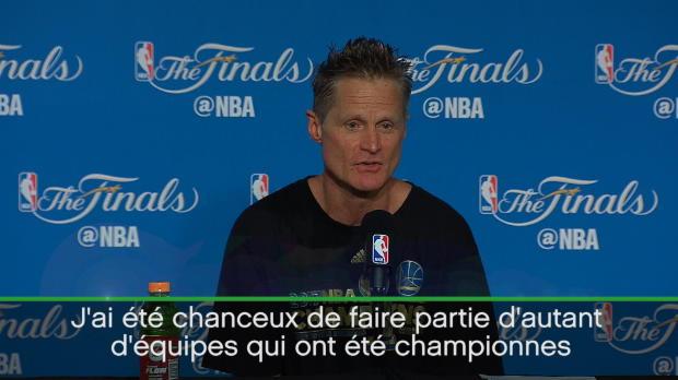 """Basket : Finales - Kerr - """"Cette victoire a un goût différent pour moi"""""""