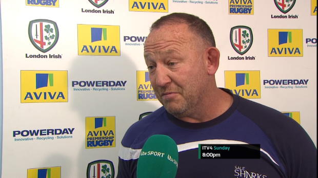 Aviva Premiership - Sale Post-Match Interviews