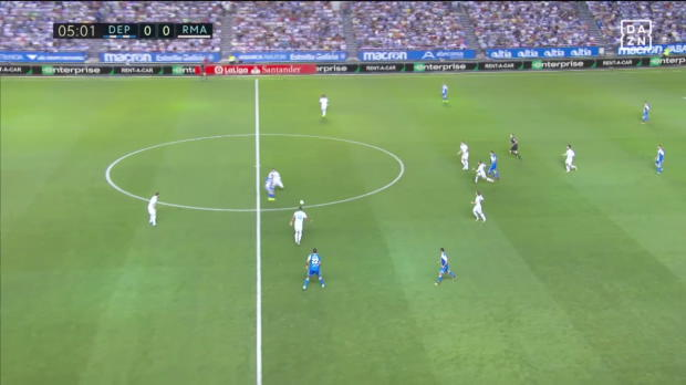 La Coruna - Real Madrid