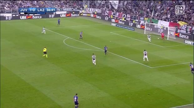 Juve-Lazio: Higuain mit kuriosem Latten-Pech