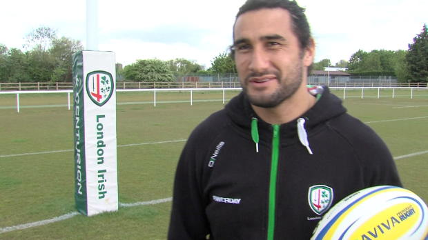 Aviva Premiership - London Irish?s Blair Cowan explains why you should be an Aviva First Timer