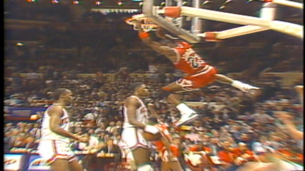 Michael Jordan's Top 10 Plays: Honorable Mention Dunks