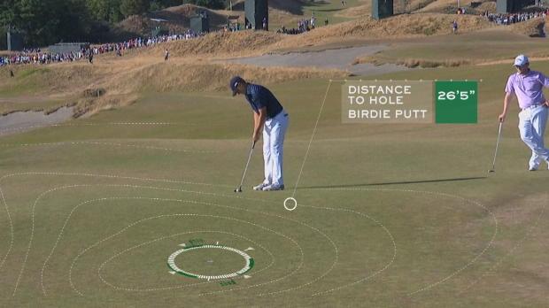 Rolex 'The Perfect Shot' – Jordan Spieth – U.S. Open 2015