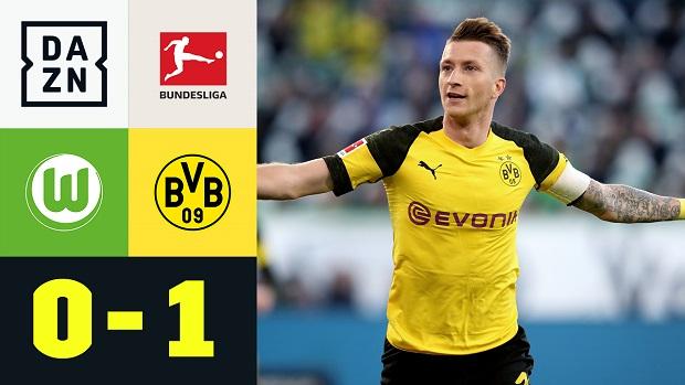 Bundesliga: VfL Wolfsburg - Borussia Dortmund   DAZN Highlights