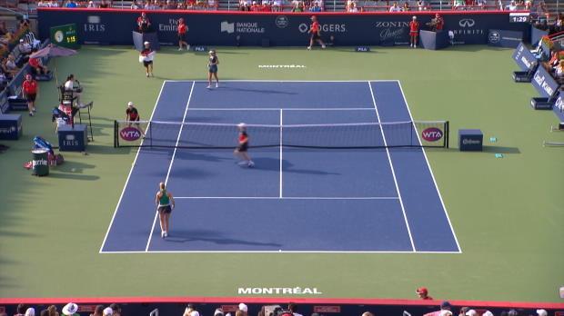 : WTA - Montréal - Un tour et puis s'en va pour Bouchard (2-6 ; 4-6)