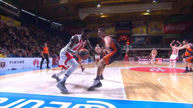 Basket : Euroligue (26e j.) - Avec Lessort, l'Étoile Rouge vient à bout de Valence