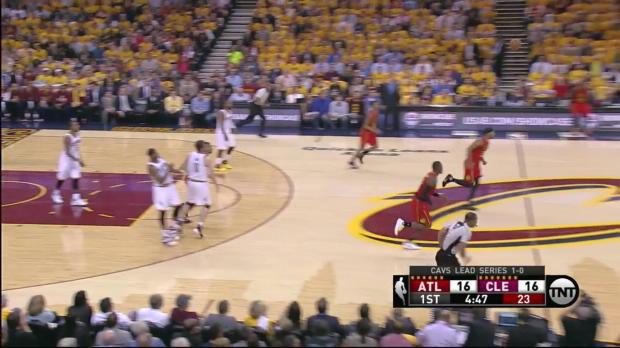 WSC: LeBron James mit 27 Punkten gegen die Hawks