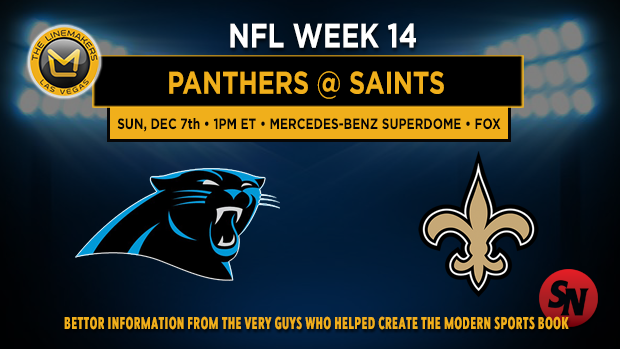 Carolina Panthers @ New Orleans Saints
